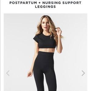 NEW blanqi high waisted postpartum leggings large